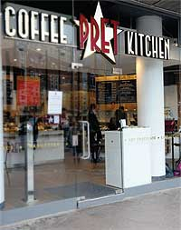 Coffee Pret Kitchen