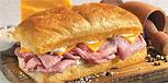 Hot Sandwich from the Earl of Sandwich