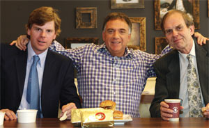 The three restaurant chain founders