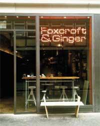 Foxcroft & Ginger shop front
