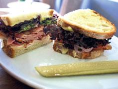 Pickle & Rye American sandwich