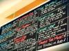 Pickle & Rye menu board