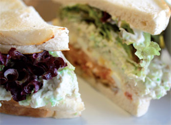 Pickle & Rye Sandwich