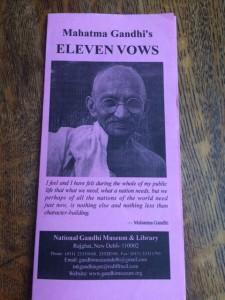 Eleven vows