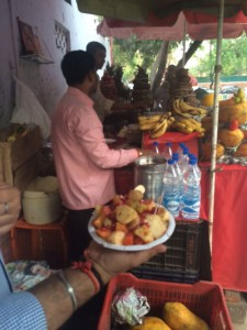 Fruit Chaat Stall