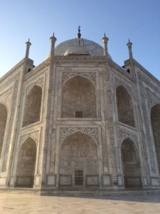 Intricate workmanship Taj Mahal