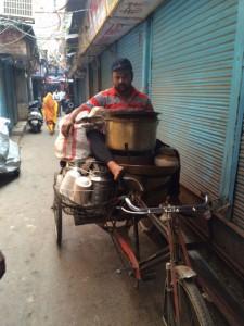 Phitthi Kachori on the move