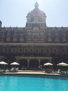 The Taj Mahal swimming pool