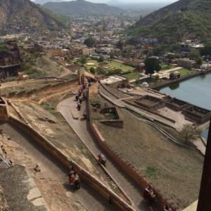Jaipur from Amber Fort