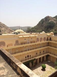 Samode Palace courtyard